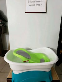 baby's white and green bather Beltsville, 20705