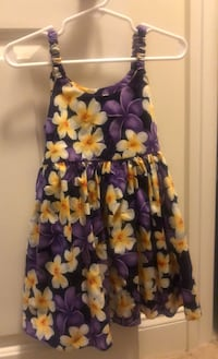 Purple and yellow floral dress 3T Rockville, 20850