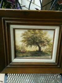 Painting of Tree and Well Shreveport, 71129