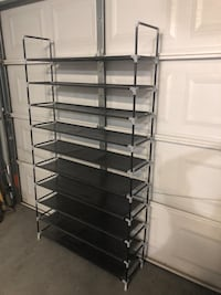Brand New Shoe Rack Organizer Fits 50 Pairs of shoes Las Vegas, 89139