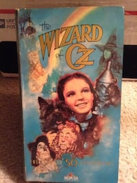 Wizard Of Oz 50th Anniversary VHS Sterling, 20166