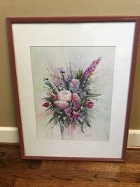 Large Floral Picture Vancouver, 98685