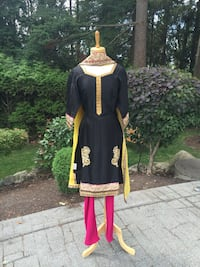 Black pyjami suit (indian Punjabi Pakistani style) Surrey, V3W