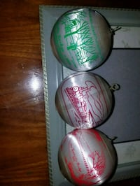 6 PA Historical Site Christmas Ornaments Elizabethtown, 17022
