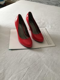 Red shoes used once size 6 Toronto, M3L 1L5