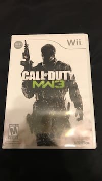 Gently used Call of Duty MW3 Wii game Bonaire, 31005