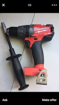 "Milwaukee New Hammer Drill/ Drivier 1/2"" FUEL - M18 Never Used Tool Only Los Angeles, 91406"