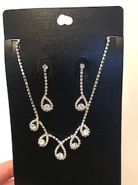 Jewelry diamond necklace and earring   Markham, L6C 0V8
