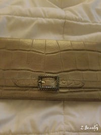 brown leather quilted leather wallet Columbus, 31904