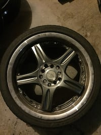 "17"" universal rims  New Tecumseth, L9R 0K3"