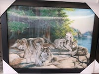 Assorted wolf 3D pictures Oshawa, L1G 4W6