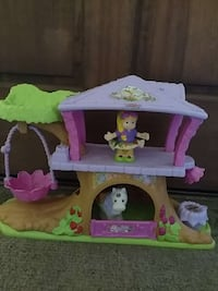 Little People Fairy Tree House