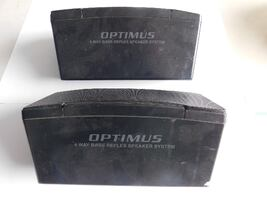 Optimus 4 Way Bass Reflex Speakers