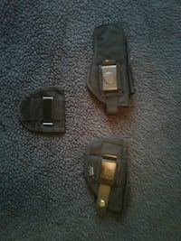 2 pistol holsters and 1concealed carry clip  Spring Lake, 28390