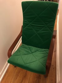 Green and brown ikea chair Toronto, M6J 1G6