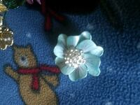 white and blue floral pin Frederick, 21702