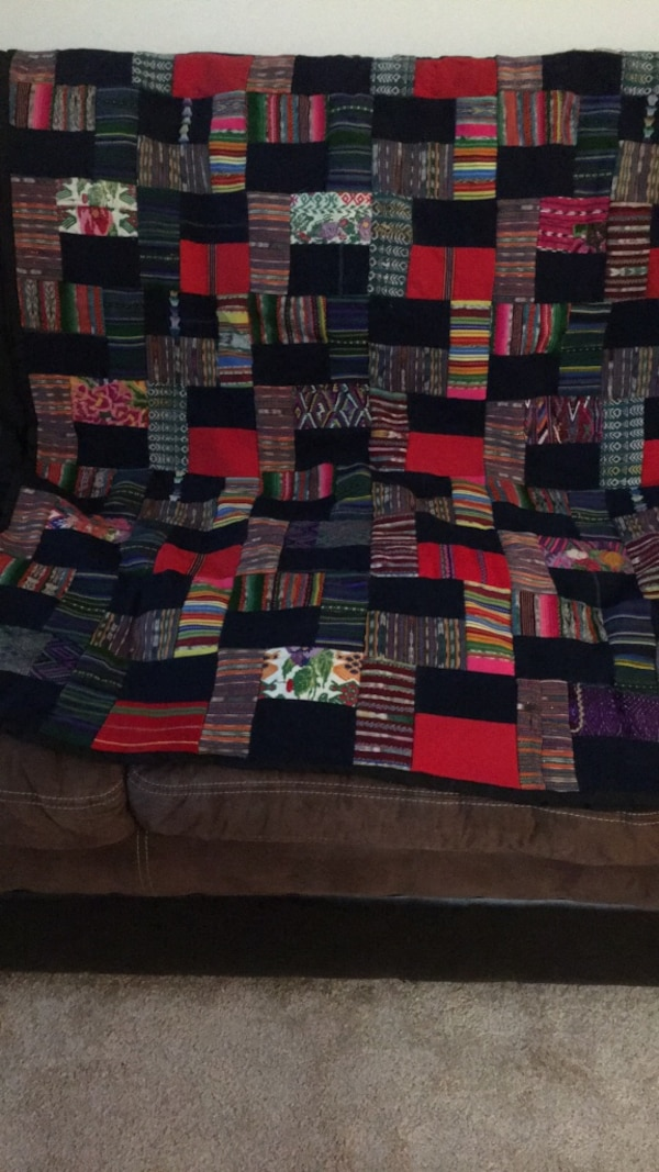 Mayan Quilt from Guatemala