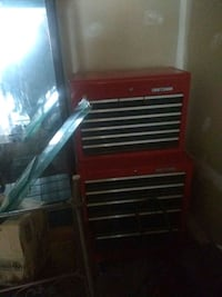red and black tool chest Frederick, 21702