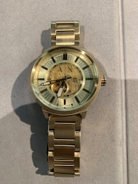 Men's Gold Armani Exchange Automatic Watch For Sale! Vaughan, L6A