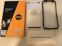 Samsung S8 full cover bending tempered glass (free applicator) Burnaby