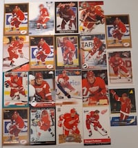 20 Detroit Red Wings Sergei Fedorov Cards. $5 Firm Calgary