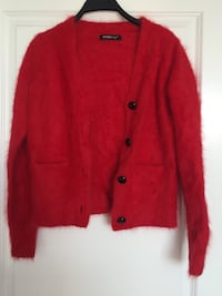 red button-up fur jacket 里士满, V6X 1C5