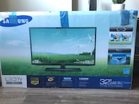"Samsung 32"" 1080p Flat Screen w/ Stand and Wall Mount 32 km"