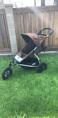 Baby's black and brown jogging stroller Burnaby, V5C 1Y5