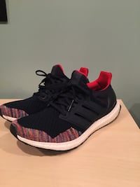 Adidas Ultra Boost 1.0 Navy Blue - Multi Colour Toe Coquitlam