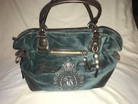 Juicy Couture Bag Blue Velour Bag Nashville, 37013