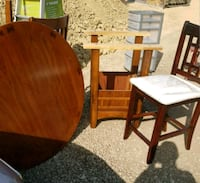 High seat wood Table and chairs  Hamilton, L8L 2A4