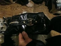 black leather Michael Kors hand bag Edmonton, T6A 0J4