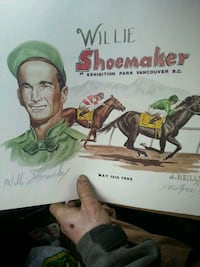 Willie Shoemaker limited edition  New Westminster