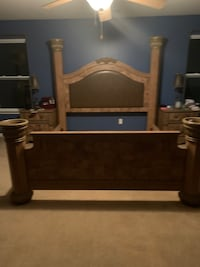 Great condition King size Bedroom Set Monroe, 28110