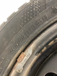 MINT CONDITION ELANTRA WINTER TIRES AND RIMS Ottawa, K1T 0N2