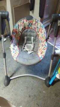 baby's gray and white swing chair Eastover, 29044