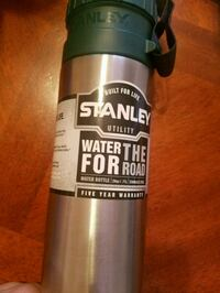 gray and green Stanley Utility water for the road tumbler Pike County