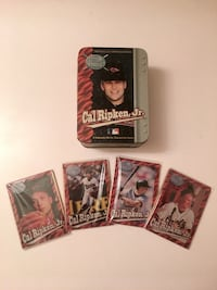 Cal Ripken Jr. Metallic Collector Baseball Cards