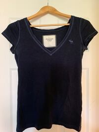 Abercrombie and Fitch blue v neck Calgary, T2P 0G6