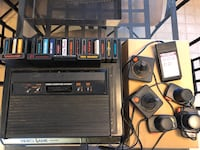 ATARI 2600 console, with several controllers, and classic games! Piscataway, 08854