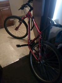 Good condition giant bike with lock only 70