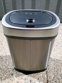 Automatic Touchless Infrared Motion Sensor Trash Can, 3.2 Gal. (12 L)