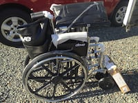 BARIATRIC WHEELCHAIR. 22 in.    (24 in available) we deliver $. cc accept Newark, 07114