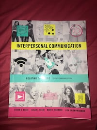 Interpersonal communication text book Georgetown, L7G 1X6