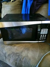 black and gray microwave oven Louisville, 40214