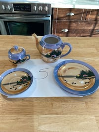 Tableware 4 piece paint by hand Mississauga, L5N 7H7