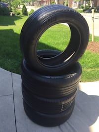 See of 4 tires and good condition Michelin tires size 215/55/17 Brampton, L6R 3M6
