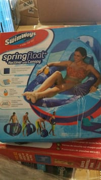 Swimways spring float recliner with canopy Riverside, 92509