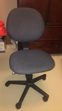Clean Office Chair, lifts up and down