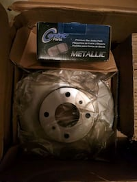 NIB Brake Rotors and Metallic Brake Pads Clinton, 20735